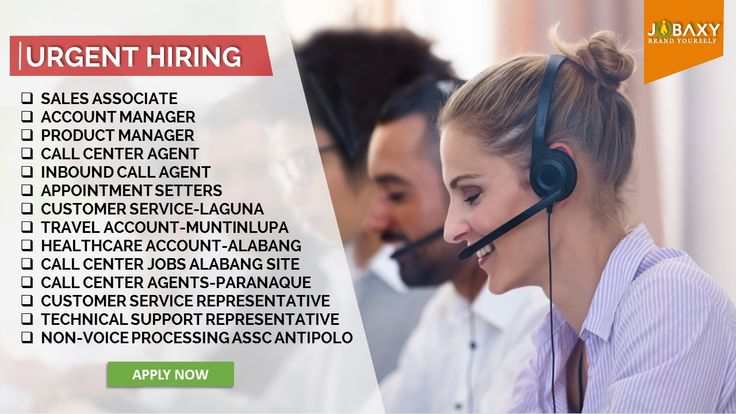 BPO Jobs in Philippines available today on