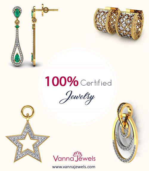 Vanna Jewels Certified Diamond Jewelry Collection Set in Solid Gold