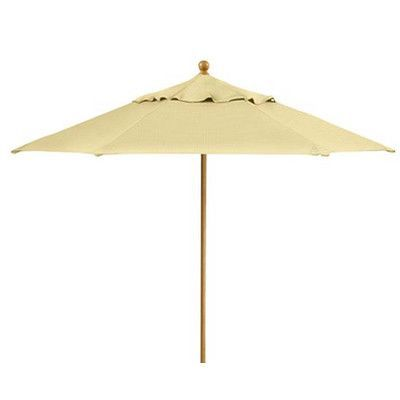Tropitone 8.5' Portofino Market Umbrella Fabric: Taylor, Opening Mechanism: Pulley, Frame Finish: Sonora