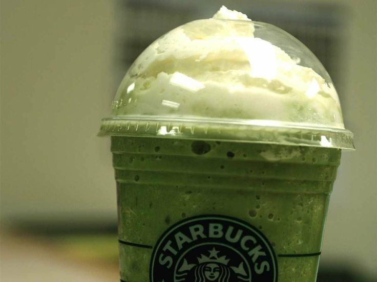 The Tazo Green Tea Frappuccino has 560 calories — the same at the Chocolate Cookie Crumble Frappuccino.