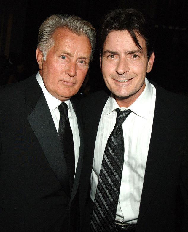 """Charlie Sheen's Father Martin Sheen Speaks Out About Son's HIV Announcement: """"I Couldn't Believe the Level of Courage""""  Martin Sheen,Charlie Sheen"""