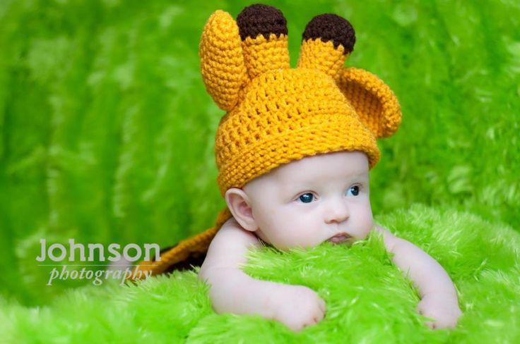 https://hodgepodgecrochet.wordpress.com: Giraffe Photo Prop