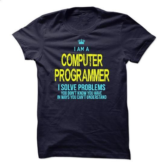 Im A/An COMPUTER PROGRAMMER - #polo t shirts #shirts for men. CHECK PRICE => https://www.sunfrog.com/LifeStyle/Im-AAn-COMPUTER-PROGRAMMER-22838155-Guys.html?60505