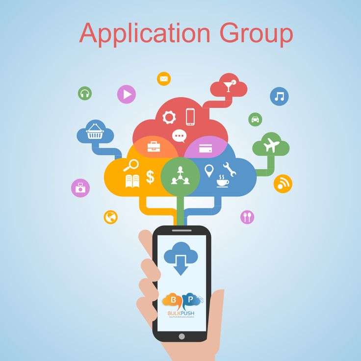 Create application group & send one #push #notification to many applications via BulkPush