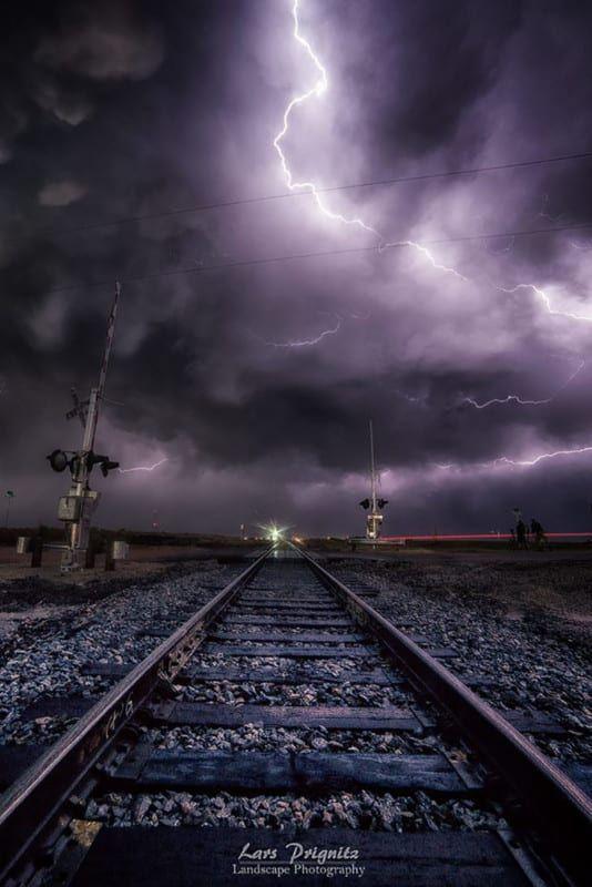 """""""It's coming"""" Storm Greensburg, Kansas, May 2016"""