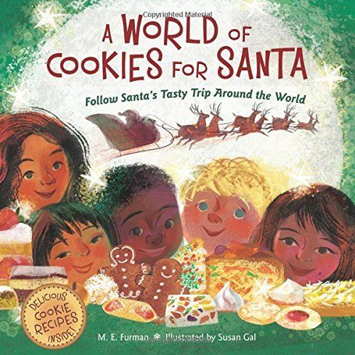 From Amazon: A World of Cookies for Santa takes readers across the globe to see all the treats that await Santa on Christmas Eve. Head to the Philippines, where children leave out puto seko cookies and ginger tea for Santa; jet to Russia for a honey-spice cookie; then set out for Malawi for a sweet potato cookie! When …