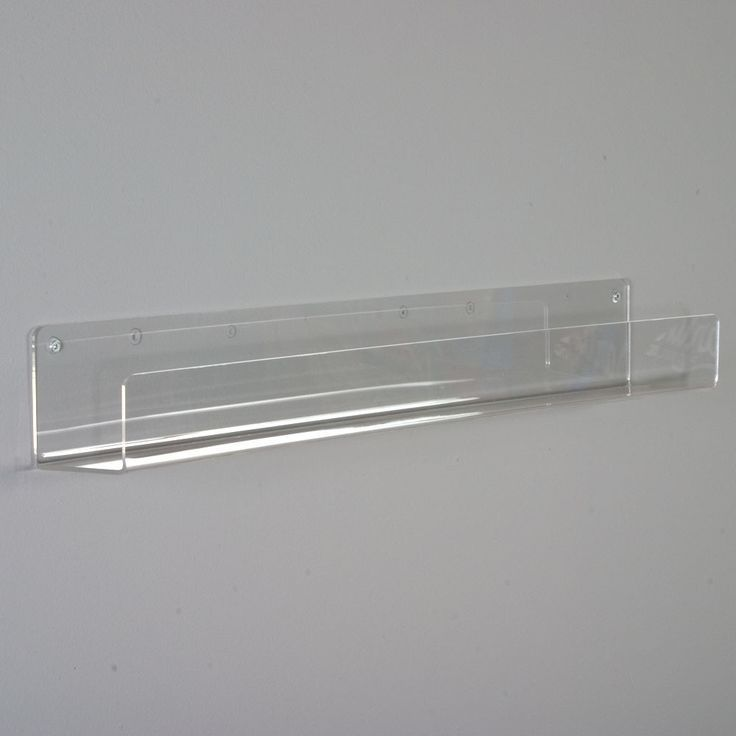 This flat bottom shelf made from high quality polished acrylic displays your mer…   – most beautiful shelves