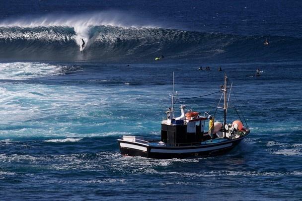 Surf y pesca. La Santa, Lanzarote.