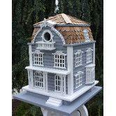 Found it at Wayfair - Victorian Birdhouse with Mansard Roof
