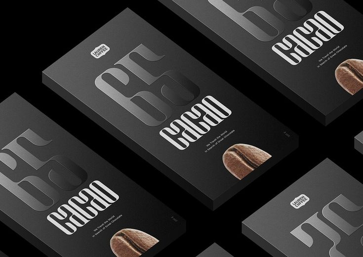 Lauren Coffee Dark Chocolate Branding by Michael Chernykh