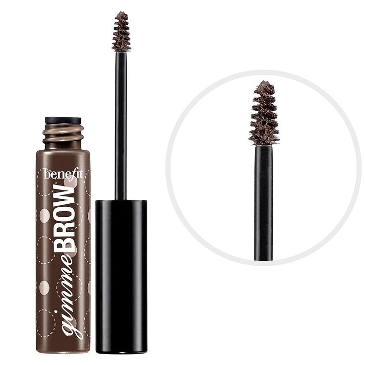 What it is: A brow-volumizing fiber gel.  What it does: This innovative brush-on fiber gel adheres to skin and hair creating brows where before there were none. It builds easily for thick, lush arches, thanks to a tapered brush for blending and a
