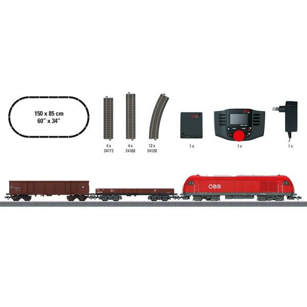 "29020 Märklin Start up – ""Austria Era V"" Digital Starter Set. 230 Volts"