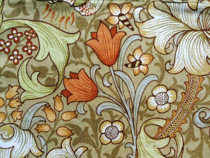 William Morris Fabrics and Wallpapers | Beautiful Nouveau - William Morris - Linen Shoulder Bag