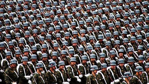 Parada Militar Glorias del Ejército, Fiesta Patria