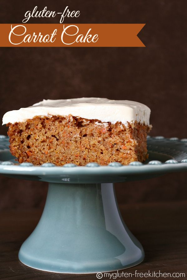 Gluten-free Carrot Cake - This classic dessert goes gluten-free, but still tastes incredible!