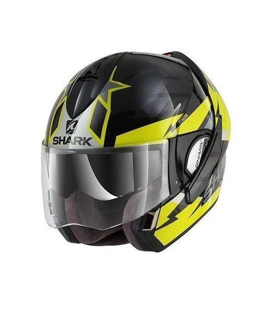El casco de moto evoline Series 3 ofrece innovaciones respecto a su predecesor. Dispone de un diseño más silencioso, ventilación interior optimizada, y un sistema de apertura más rápido.