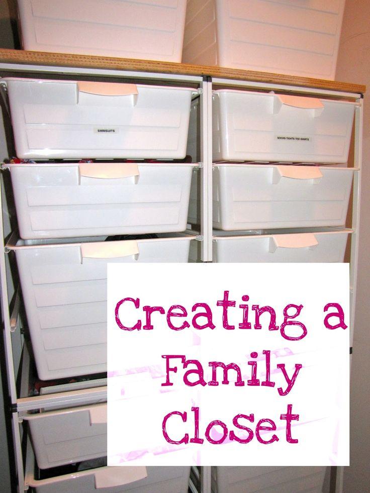 Forever, For Always, No Matter What : Catholic Adoption & Home Education Blog: Family Closet