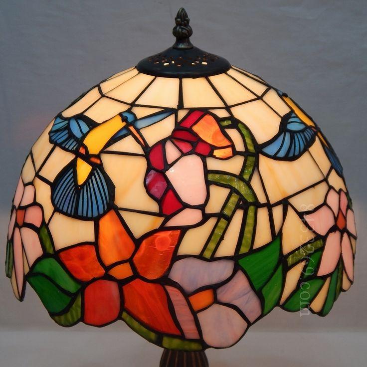 Humming Bird Tiffany Lamp 10S10 1
