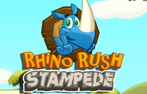 Rhino Rush Stampede | Malika Games Online Free
