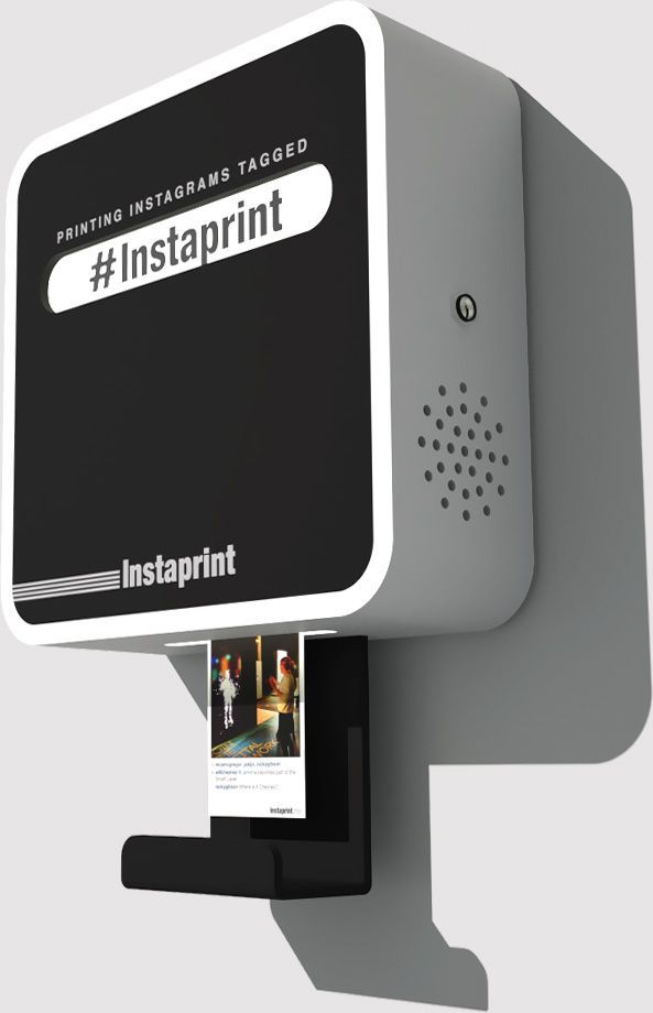 By pulling hashtagged photos and videos from Instagram, Instaprint can print thousands of attendees' photos no matter where they may be located at an event. Instaprint enhances events while also inspiring people to take more photos. That means more tagged photos and videos with the event's hashtag. When the event is over, Instaprint's software generates an analytics report showing how many people were reached via the event's hashtag