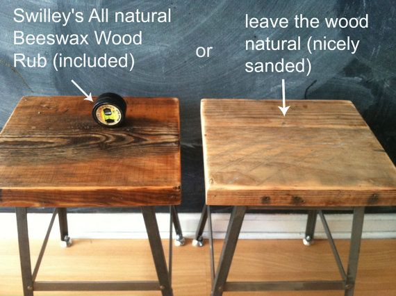 items similar to pair of reclaimed wood and steel industrial shop stools chairs with backs made in chicago qty table height quick shipping on etsy - Counter Height Chairs