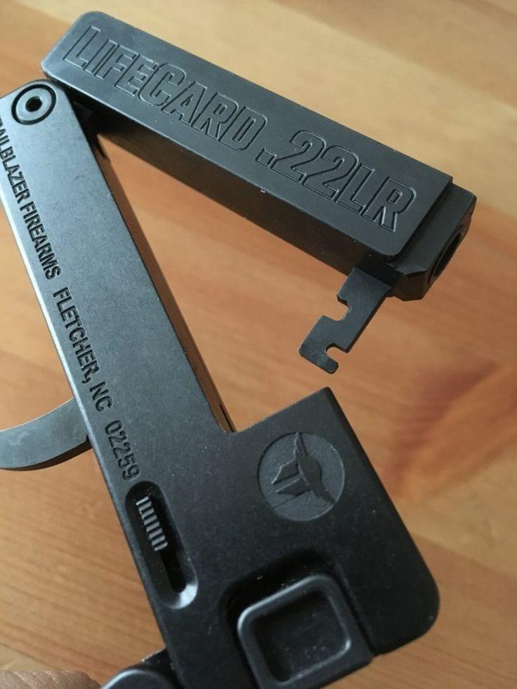Review: LifeCard 22 - A Folding .22LR Handgun - The Firearm Blog