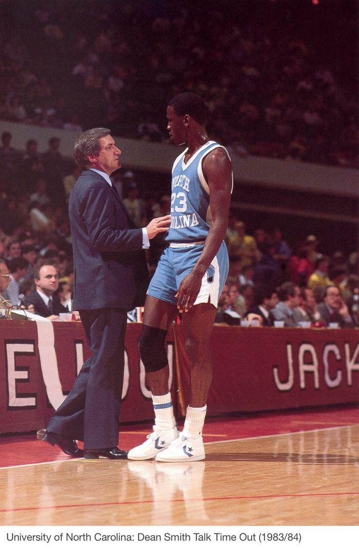 Dean Smith & Michael Jordan