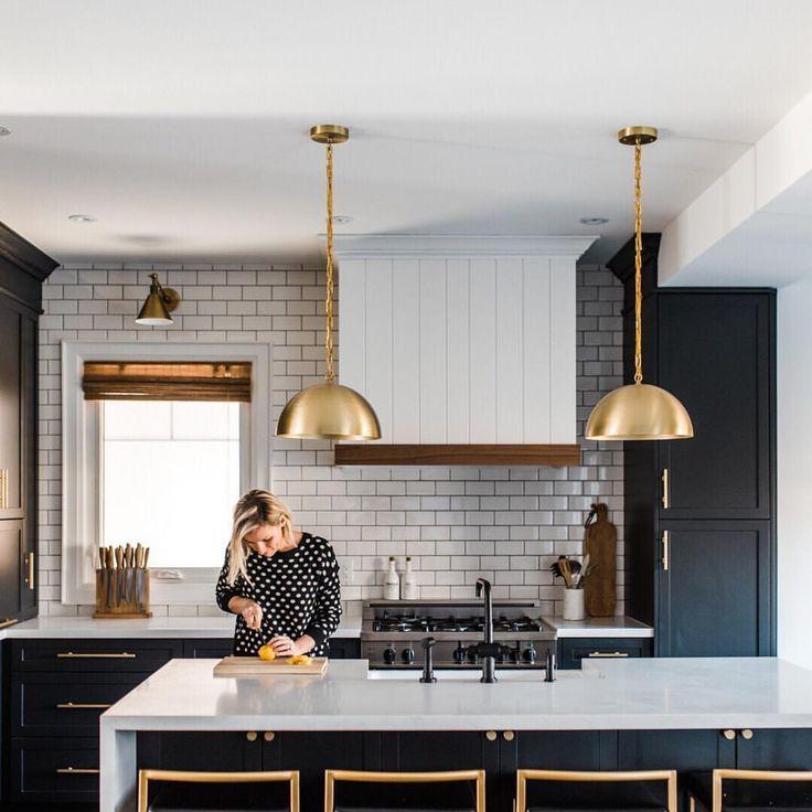 Black And Gold Interior Design Kitchen Country Kitchen Designs