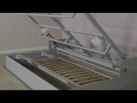 Mecanisme De Lit Canape Escamotable Grand Confort Avec Coffre Sous
