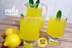 Şahane Doğal Ev Limonatası 3 Litre (Acılık Yok)