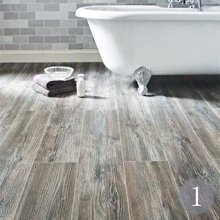 Laminated floors