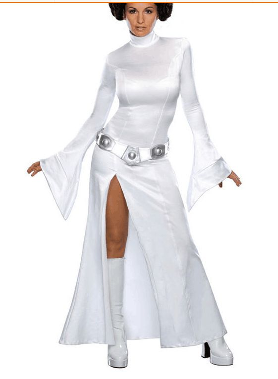 Star Wars Cosplay Princess Leia Organa Solo Costume Princess Leia Cosplay Halloween Dress XXS-3XL #Affiliate