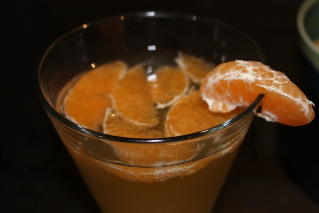 Mandarin Mimosas - the perfect ending to a long day, delicious, and