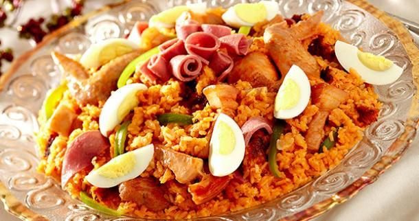 Ingredients: 2 tbsps Cooking Oil (for sauteing) 1 tbsp Garlic (minced) 1/4 cup Onion (chopped) 300 grams Chicken Meat (cut into 6 pieces) 100 grams Pork Kasim (cut into thin strips) 1½ tbsp Patis 1 pc Laurel ⅛ tsp Dried Oregano 1 tbsp Ginger (pounded) ¾ cup Rice (washed and drained) ¾ cup Malagkit Rice (washed, soaked and Continue reading →