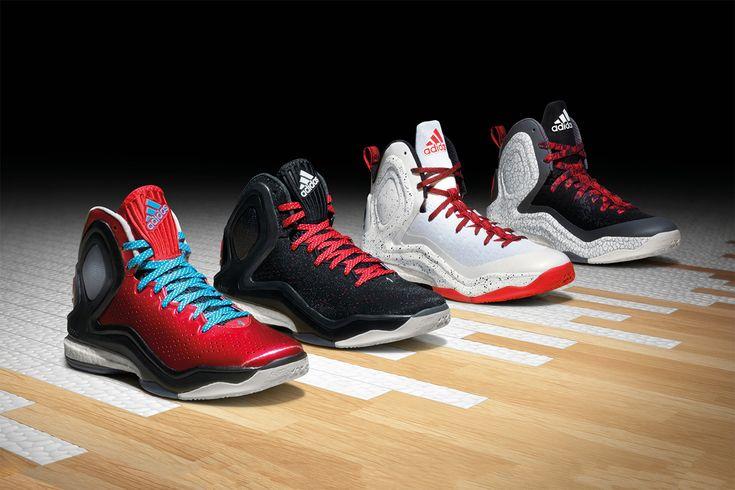 "#adidas D Rose 5 Boost ""Home"" & ""Alternate Away"" #sneakers"