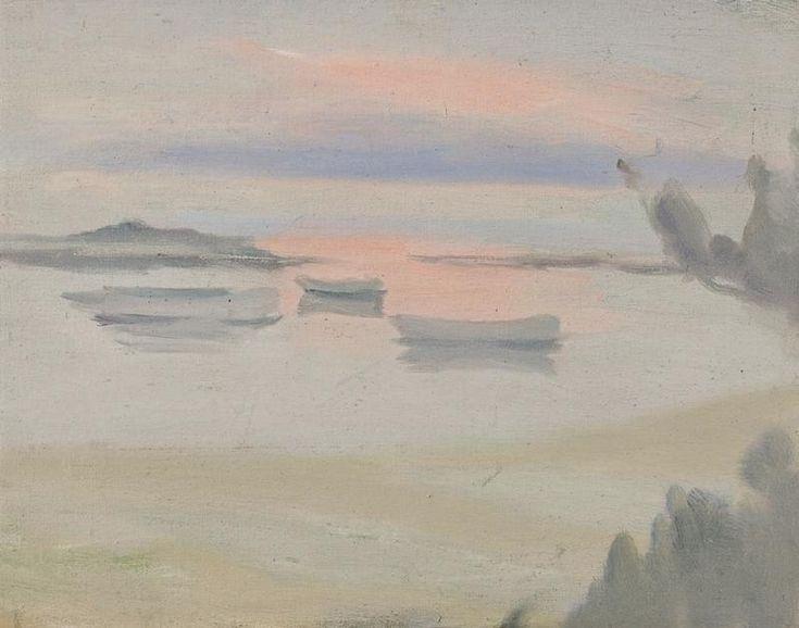 Clarice Beckett - Sunset