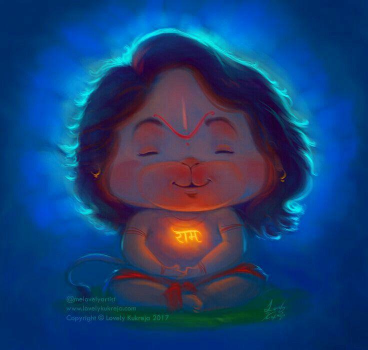 Meditating Baby Hanuman Lord Hanuman Wallpapers Lord Shiva Painting Lord Hanuman