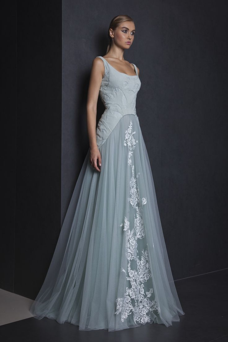 10 best blue wedding dress images on Pinterest | Bridesmaids, Gown ...