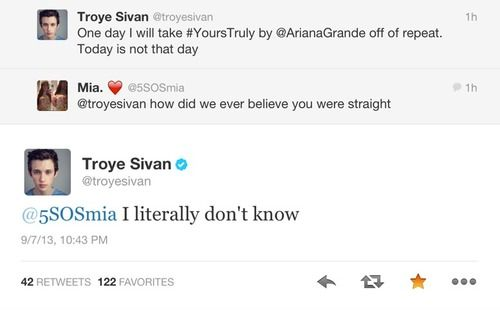 Troye Sivan everyone. One of the most beautiful gay youtubers on the whole LGBTQ YouTube universe