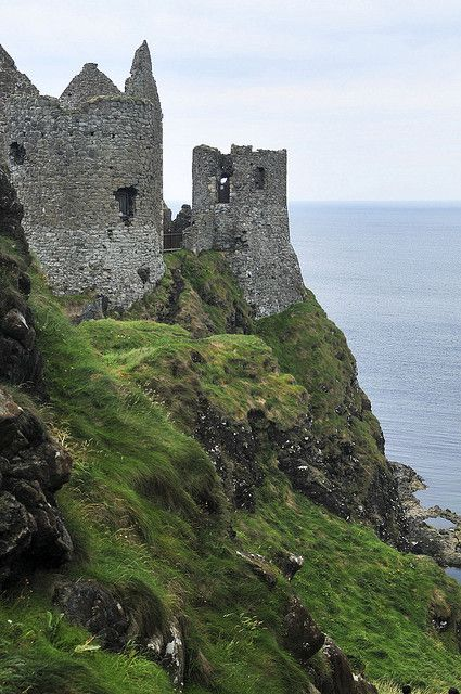 Dunluce Castle, Northern, Ireland - This was a beautiful View on the way to Giant's Causeway!