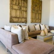 How to Make a Sectional Slipcover Without Sewing | eHow