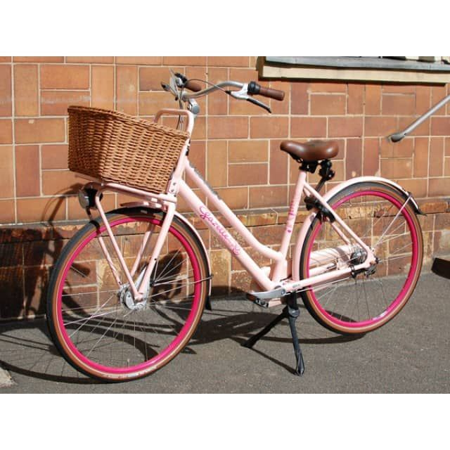gazelle cargobike miss grace t3 freilauf sparkling pink home living. Black Bedroom Furniture Sets. Home Design Ideas