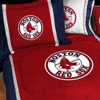 Boston Red Sox Queen Bed Sheets