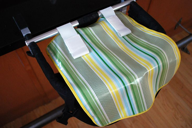 DIY Washable Baby Placemats Great for Clip-On Chairs free project tutorial