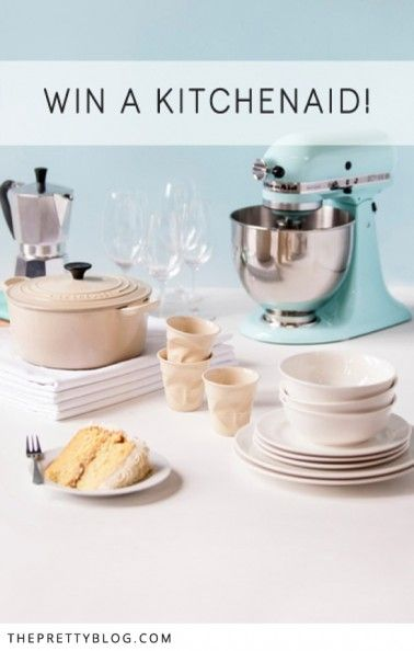 Win a KitchenAid Mixer from Yuppiechef.comhttp://www.theprettyblog.com/food-and-wine/win-a-kitchen-aid-mixer-from-yuppiechef-com/?ref=zcmd6n
