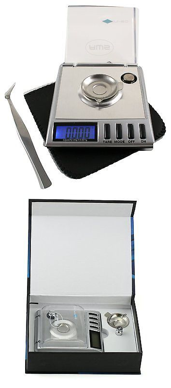 Kitchen Scales 50419: American Weigh Scales Gemini-20 Portable Milligram Scale Silver, 20 X 0.001G New -> BUY IT NOW ONLY: $33.36 on eBay!