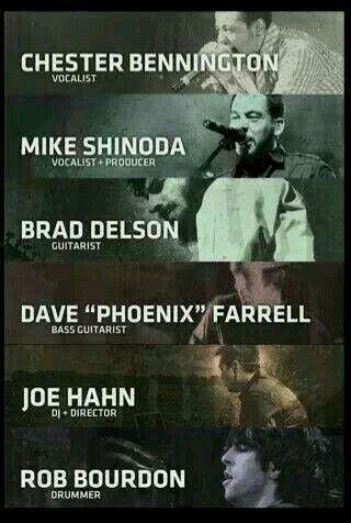 Linkin Park Band Members