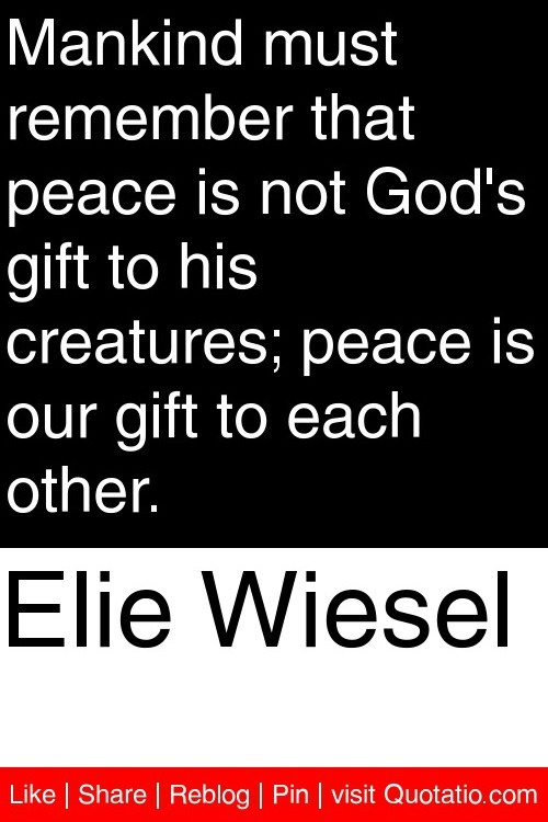 wiesel and his relationship with god