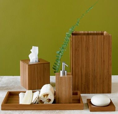 home spa zen bathroom decorbathrooms - Bamboo Bathroom Design