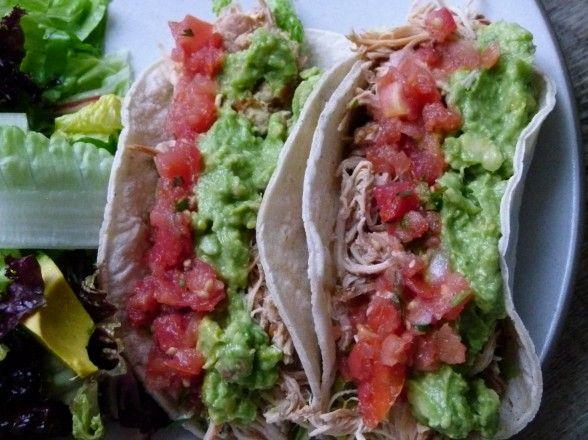 Slow Cooker Chicken Tacos by Pamela Salzman